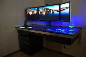 best corner desk for 3 monitors large computer desk for 3 monitors tech pinterest large