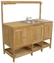 Master Forge Burner Modular Outdoor Kitchen Sink And Side - Outdoor kitchen sink cabinet