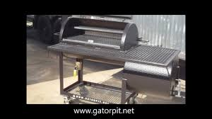 Backyard Classic Professional Charcoal Grill by Backyard Classic By Gator Pit Of Texas Bbq Pits Youtube