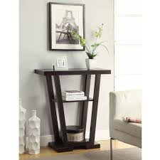 Hallway Table by Convenience Concepts Newport V Console Table Multiple Finishes