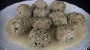 viande a cuisiner fleischknepfle boulettes de viande alsaciennes à la sauce blanche
