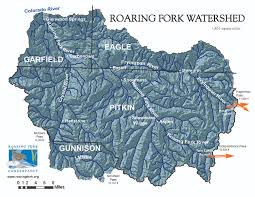 Colorado Snowpack Map Rfc Roaring Fork Watershed Facts