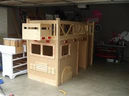 Build Bunk Bed How To Build A Truck Bunk Bed Home Design Garden