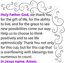 prayer the gift of and overflowing blessings whyte