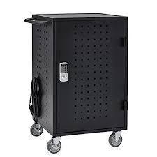 laptop charging station buy ecr4kids 30 bay locking laptop tablet charging station cart