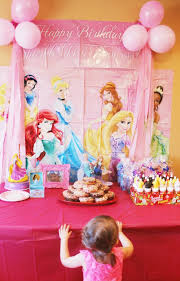 Birthday Decor At Home Home Design Disney Princess And Play Doh Birthday Party Easy