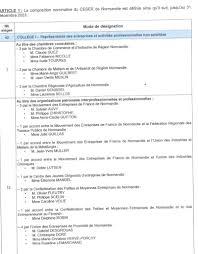chambre agriculture haute normandie nomination du nouveau ceser de normandie la démocratie régionale