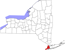Road Map Of New York State by Map Of New York State Kredi Notu