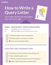 here u0027s a quick and easy guide to writing a query letter outer
