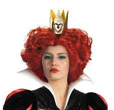 halloween costumes wigs red queen wig alice in wonderland movie costume accessories