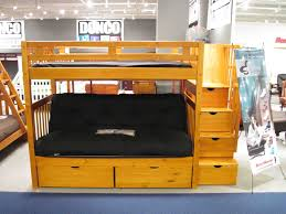 bedroom loft bed with futon fouton bunk bed metal bunk beds