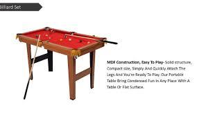tabletop pool table 5ft costway 48 mini table top pool table game billiard set cues