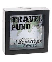 cool wedding presents this travel fund shadowbox bank by ganz is zulilyfinds