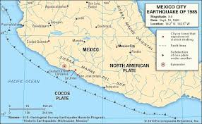map of mexico cities mexico city earthquake of 1985 history facts response