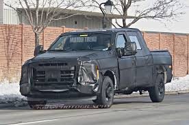 Ford Diesel Truck Generations - first next gen ford f series super duty prototype motor trend wot
