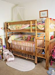 bunk bed crib combo business card size net