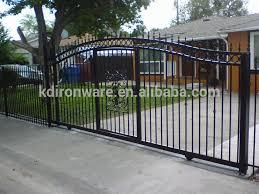 Decorative Metal Fence Panels Home Garden Decoration Antique Bronze Color Wrought Iron Metal