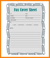 5 word fax cover sheet itinerary template sample microsoft office