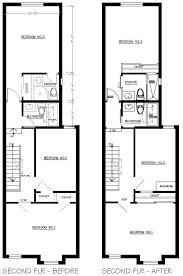 floor plans house only row house floor plans ideas within housing idea 19