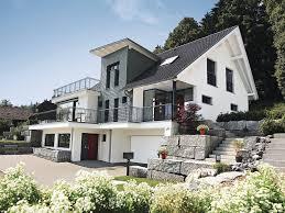 wohnflã chenberechnung balkon einfamilienhaus mit hanglage architektenhaus weberhaus
