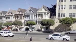 panning painted ladies famous houses from full house in san