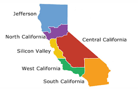 State Map Of California by Mapping The Proposed Balkanization Of The State California
