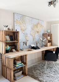 bureau style atelier bureau industriel nos idées déco made in meublesle déco de