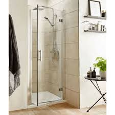 Shower Door 700mm Koncept Hinged Shower Door