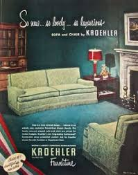 home decor ads 10 kroehler sofas and loveseats from 1976 loveseats and sofas