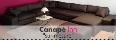 mesure canapé collection sur mesure canapé inn