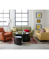 Macy S Furniture Sofa by Almafi Leather Sofa Living Room Furniture Collection Furniture