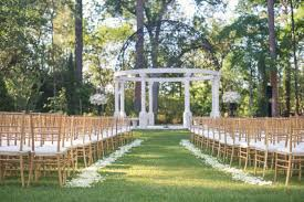 wedding arches houston weddings chateau cocomar