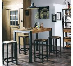 table de cuisine maison du monde table haute cuisine maison du monde bar tables counter height