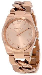 chain link bracelet watches images Michael kors rose gold chain link bracelet designer watch tradesy jpg