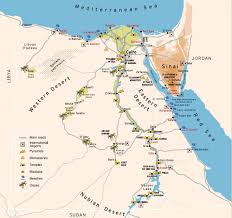 Oasis Map Www Mappi Net Maps Of Countries Egypt