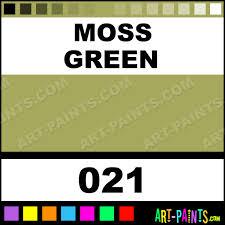 moss green artist gouache paints 021 moss green paint moss