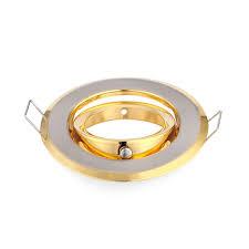 Mr16 Light Fixture 100pcs 65mm Cut Recessed Ceiling Light Fixture Trims