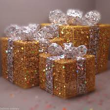 christmas lights parcels gift boxes decorations all in one listing