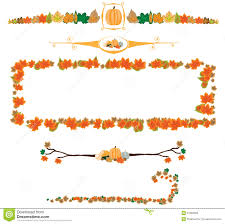 pumpkin border clipart u2013 fun for halloween