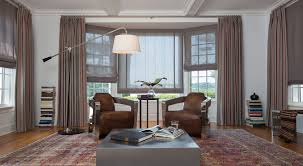 Bay Window Ideas Ideas For Bay Window Treatments The Shade Store Throughout Shades