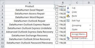 how to quickly select or unselect all checkboxes in your excel