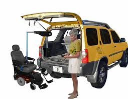 Used Chair Lifts Transporting A Wheelchair Or Scooter Inside A Van Or Suv
