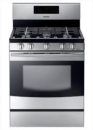 Home Depot Electric Cooktop Samsung 30 In 5 8 Cu Ft Gas Range With Self Cleaning Oven And 5