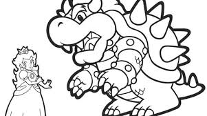 100 ideas bowser coloring pages kitchenstyleraiso
