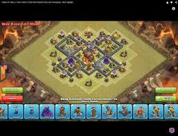 coc map layout th6 clan war base design air sweeper update from th6 to th10 2015