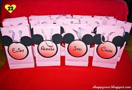 halloween loot bag ideas loot bags mickey mouse image gallery hcpr