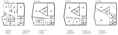 museum floor plans sogn u0026 fjordane art museum by c f møller design chronicle