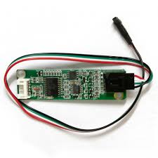 four wire resistive touch screen panel usb driver controller for
