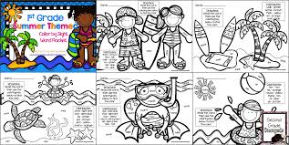 sight word practice as a coloring page