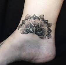 50 ankle tattoos for with style tattooblend